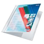Leitz Schnellhefter Exquisit A4+ weiß Nr. 4193-01 PVC für 120Bl Längstasche
