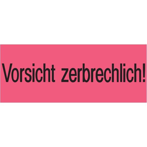 Herma Versandzettel Vorsicht zerbrech- lich Nr. 6756 39x118mm PA1.000Stück