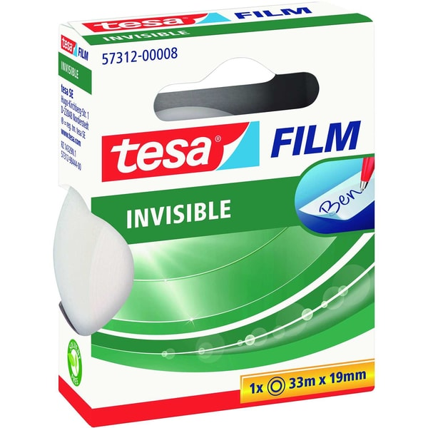 tesa Klebefilm 19mmx33m matt unsichtbar Nr. 57312 beschriftbar kopierbar