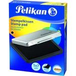 Pelikan Stempelkissen Größe 3 Schwarz Nr. 331066 5 X 7Cm Metallgehäuse
