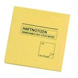 AS Haftnotiz 76x76mm gelb Block à 100 Blatt