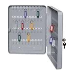 Alco Schlüsselschrank für 40 Schlüssel lichtgrau 892