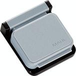 Maul Clip S Magnet 3.6x4cm grau Nr. 6240084. Kunststoff. PA= 10 Stk