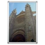 Franken Bilderwechselrahmen A2 Nr. BS0703 420 x 594cm Aluminium