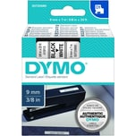 Dymo Schriftbandkassette S0720680 9mmx7m schwarz auf weiß40913 D1
