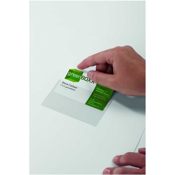 Durable Selbstklebetasche Pocketfix Nr. 8293-19 57x90mm PA 100Stk