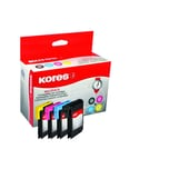 Kores Tintenpatrone G1523KIT wie Brother LC985 sw/c/m/y 4 St./Pack.