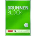 Brunnen Briefblock A4 blanko Nr. 1052826 90g grün 50 Blatt