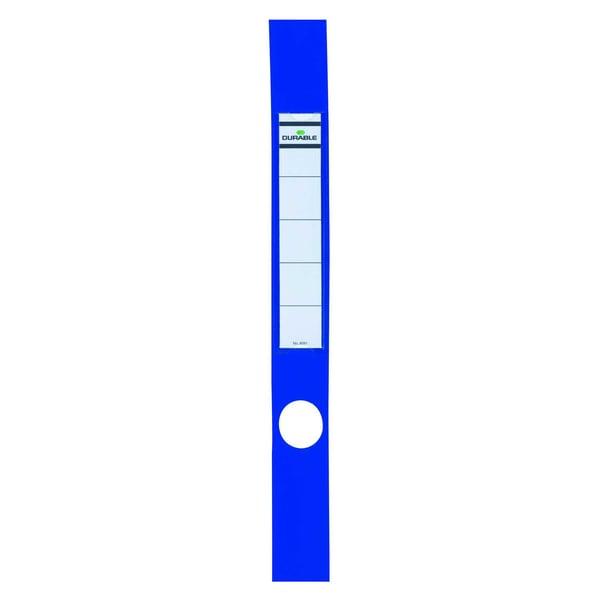 Durable Ordofix Rückenschild blau Nr. 8091-06 schmal/lang PA 10 Stück