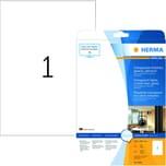 Herma Folien-Etikett Nr 8020 transparent PA 25Stk 210x297mm bedruckbar