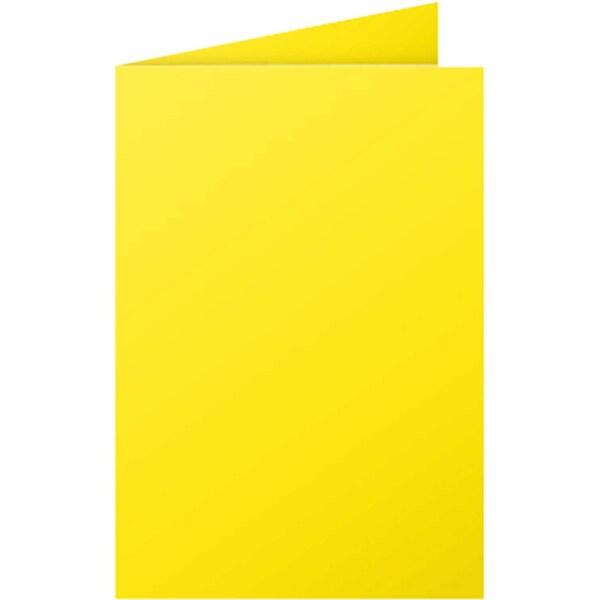 Clairefontaine Faltkarte Pollen C6 210g Nr. 2323C sonne PA 25 Stück