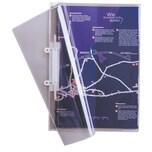 Durable Schnellhefter A4 abheftbarglasklar 2512-19 PVC 100 Blatt mit Innentasche