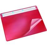 Läufer Durella Soft Schreibunterl. Vollsichtfenster 50x65cm 47654 rot