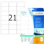 Herma Adress-Etiketten Nr. 5074 weiß PA 525 Stk 635x381mm nonpermanent