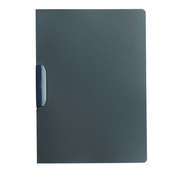 Durable Klemmmappe DURASwing anthrazit Nr. 2290-57 30 Blatt farbiger Deckel