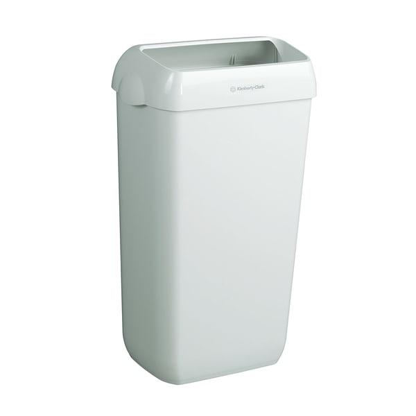 Aquarius Objektpapierkorb weiß Nr. 6993 44x28x28cm PA 2 Stück