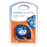 Dymo Etikettenkassetten-System S0721660 12mmx4m schwarz auf weiß Plastikband