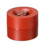 Maul Klammerspender Maulpro rot Nr. 3012325. mit Magnet. Ø 7.3x6cm