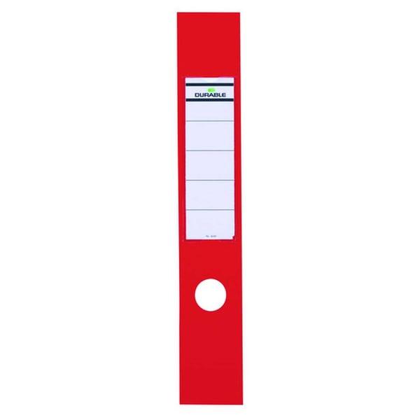 Durable Ordofix Rückenschild rot Nr. 8090-03 breit/lang PA 10 Stück