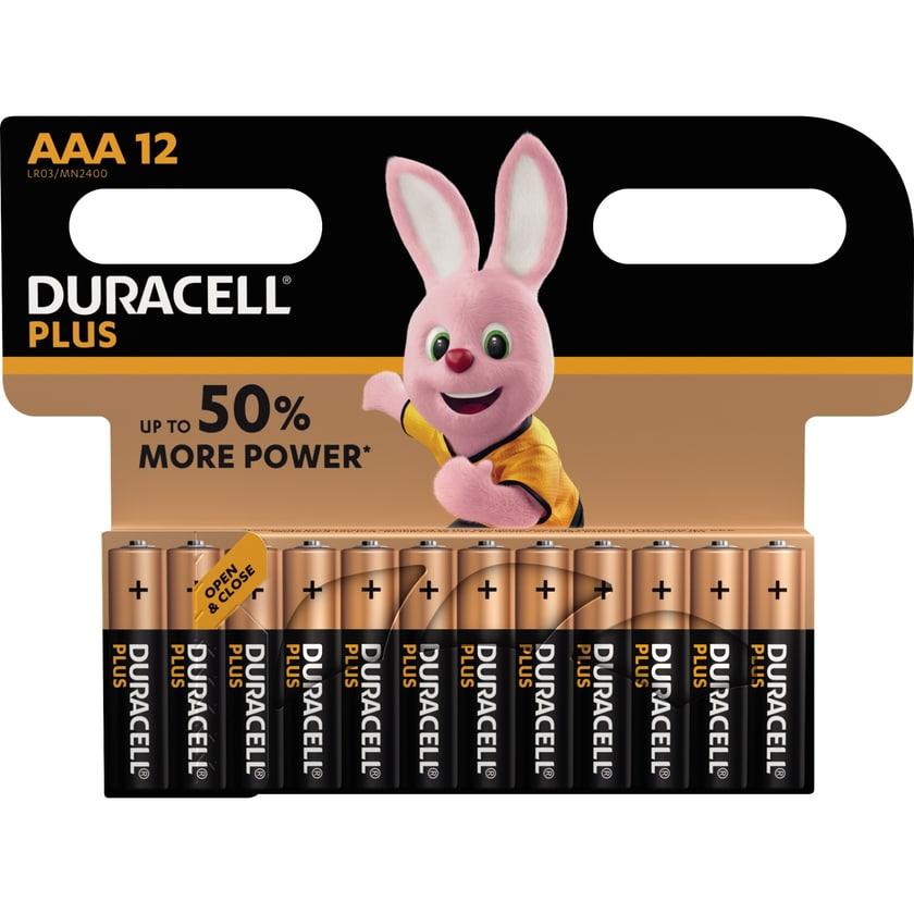 Duracell Batterie Alkaline Micro AAA Nr. 018570. LR03. 1.5V. PA= 12Stk.