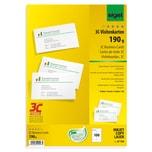 Sigel Visitenkarte hochweiß 190g Nr. LP790. PA= 100Stk
