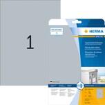 Herma Folien-Etikett Nr. 4224 silber PA 25Stk 210 x 297mm Typenschild