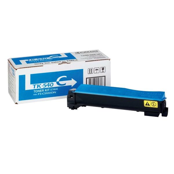 Kyocera Toner Kit TK540C 1T02HLCEU0 cyan f. FSC5100DN 4.000S.