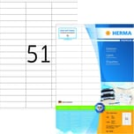 Herma Superprint-Etiketten Nr. 4459 ws PA 5.100Stk 700x169mm permanent