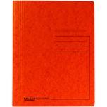 Falken Spiralhefter A4 355g orange Nr. 11287406. Colorspankarton. ca. 300Bl