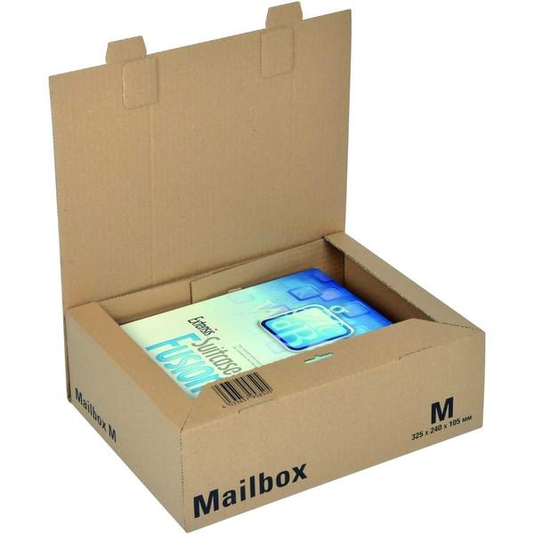 ColomPac Versandkarton Mailbox M Nr. CP098.03 24x105x325cm braun
