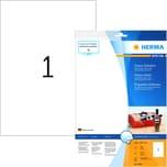 Herma Glossy-Etiketten Nr. 8895 weiß PA10 Stk 210x297mm Inkjet Foto-Qualität