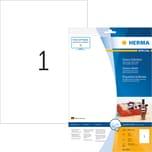 Herma Glossy-Etikett Nr. 8895 weiß PA= 10Stk 210x297mm Inkjet Foto-Qualität