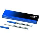 Montblanc Kugelschreibermine Pacific BLUE Nr. 16213 M blau PA 2 Stk