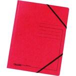 Falken Eckspanner Colorspan A4 rot Nr. 11286481 355g/m² ohne Klappen