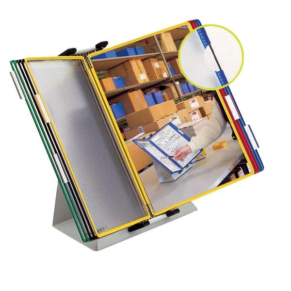 Tarifold Tischständer A4 mit 20 Tafeln Nr. 434209 farbig sortiert