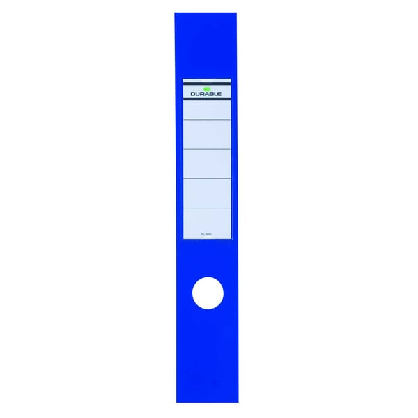 Durable Ordofix Rückenschild blau Nr. 8090-06 breit/lang PA 10 Stück