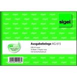 Sigel Ausgabebeleg rosa A6 quer Nr. AG615 50 Blatt 1 Durchschlag