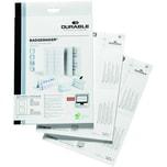 Durable Einsteckschild Badgemaker weiß Nr. 1458-02 52/104x100mm PA 40 Stück