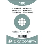ExacomPTA Karteikarte A6 kariert weiß Nr. 10209E PA 100 Stück