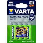 Varta Akku Ready2Use Aa Nr. 5716101404 12V Hr6 2.600Mah 4Stk