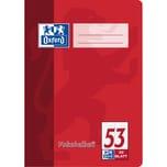 Oxford Vokabelheft A5 2-spaltig 32 Blatt 100050383 90g/m² Optik Paper