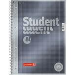 BRUNNEN Collegeblock Premium A4 kariert Nr. 1067128. 80 Blatt. Lineatur 28