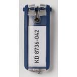Durable Schlüsselanhänger Key Clip Nr. 1957-07. blau PA= 6Stk.