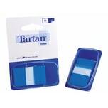 3M Tartan Haftstreifen Index 25 x 43mm Nr. 6805-2EU. blau. 50 Blatt
