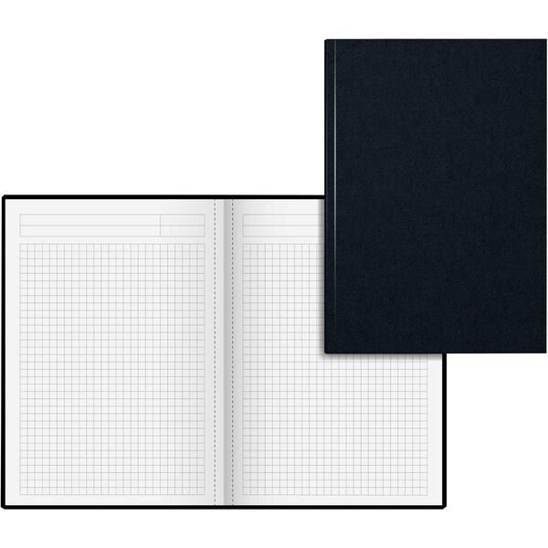 König & Ebhardt Notizbuch A5 kariert Nr. 8655227 96 Blatt schwarz/rot
