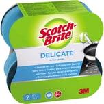 Scotch-Brite Reinigungsschwamm Comfort Universal Nr. UNCNS2. PA= 2Stk
