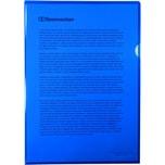 Soennecken Aktenhüllen A4 PP blau glatt Nr. 1469 150my PA50 Stück