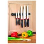 Esmeyer Messerset AUREA 291-423 5teilig Magnetleiste schwarz/rot