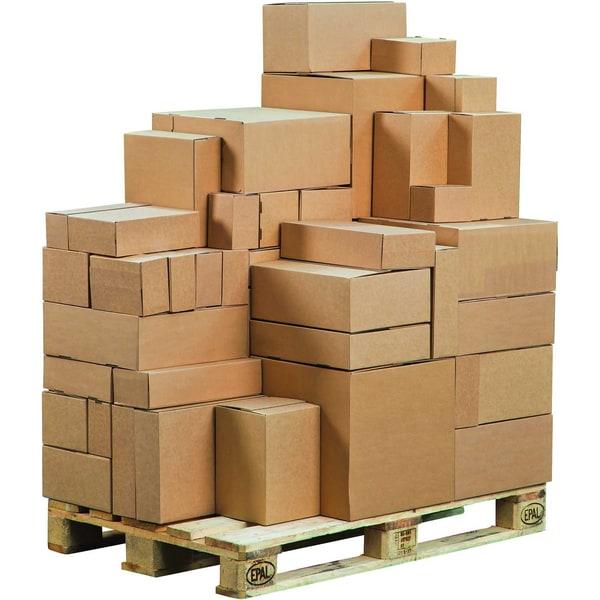 ColomPac Versandkarton Eurobox braun Nr. CP154.151015 145x95x14cm