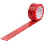 Heckmann Signalklebeband 66mm x 50m rot Nr. 400.080 Vorsicht Elektrogeräte